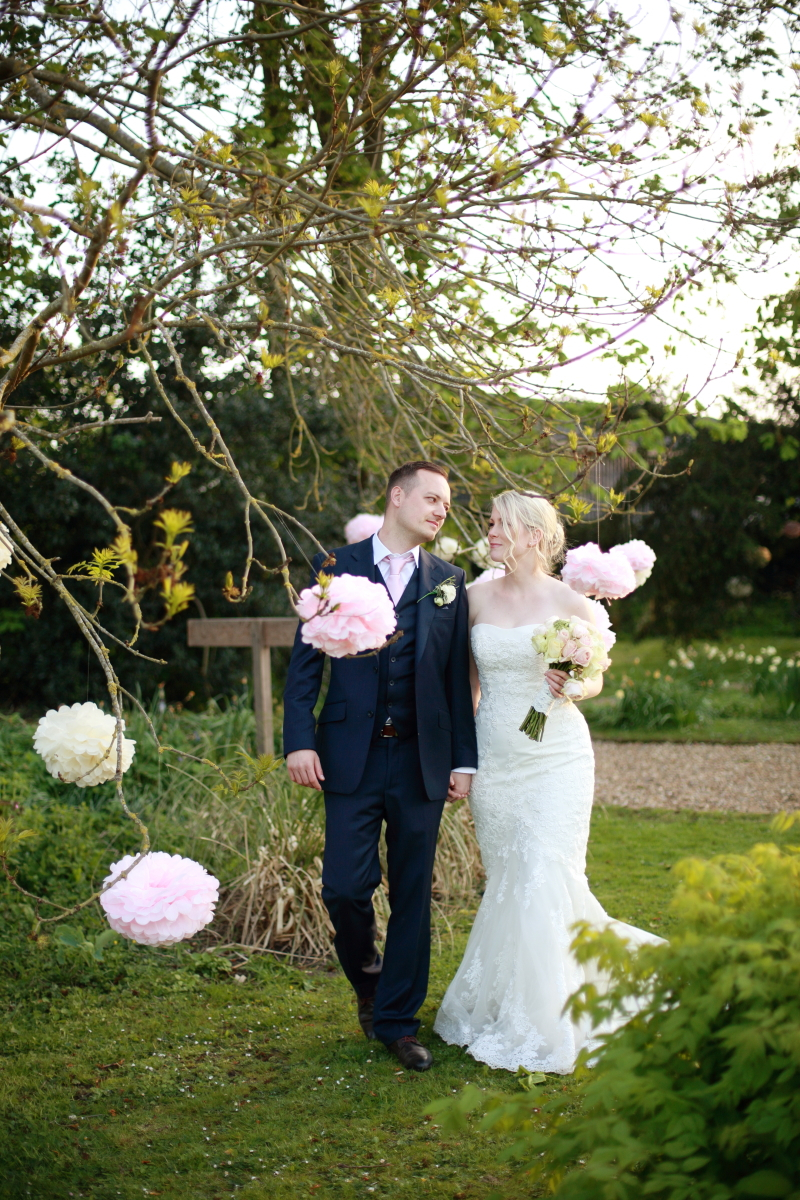 An Outdoor english Wedding At Preston Court In Canterbury With Pronovias Dress