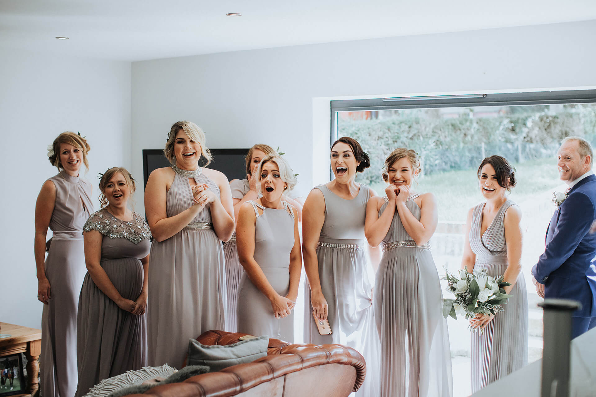 latest style of 2019 choose clearance wide range White & Green Outdoor Wedding at The Red Barn, Kent with ...