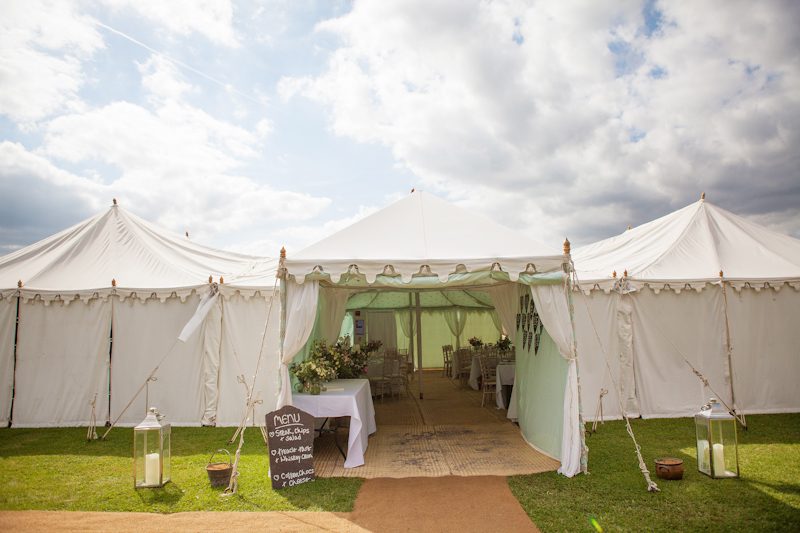 Summer Garden Party Wedding In Hertfordshire
