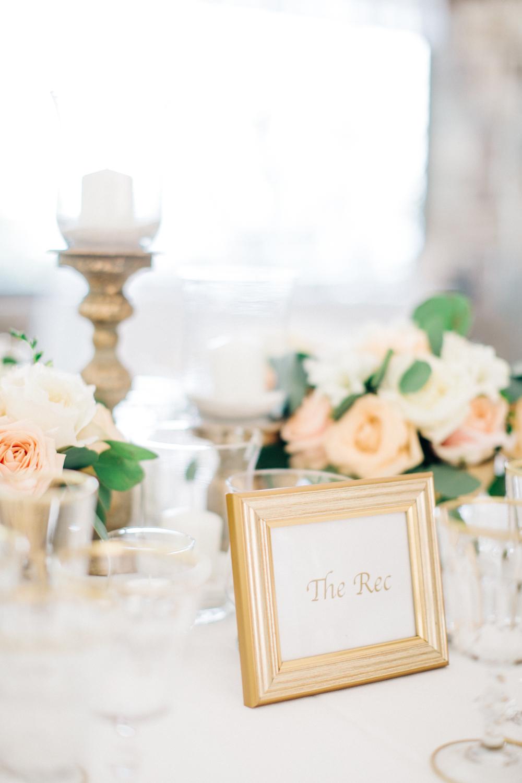Elegant Peach Tuscan Destination Wedding with Suzanne Neville Gown