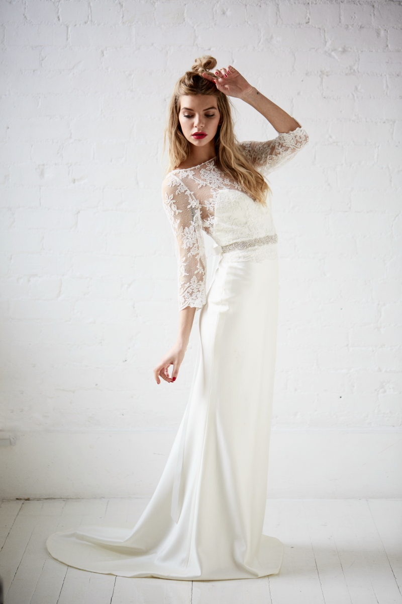 Bridal Separates Collection From Charlotte Balbier - ROCK MY WEDDING ...