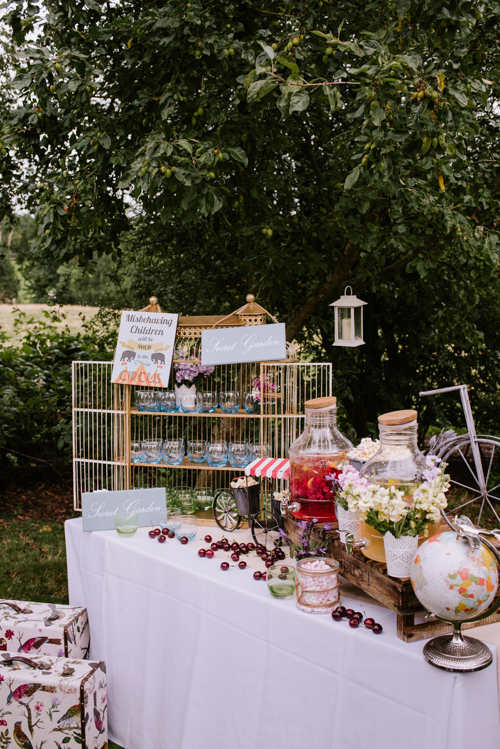 Bright Festival Themed At Home Wedding In A Tipi With Wild Flowers
