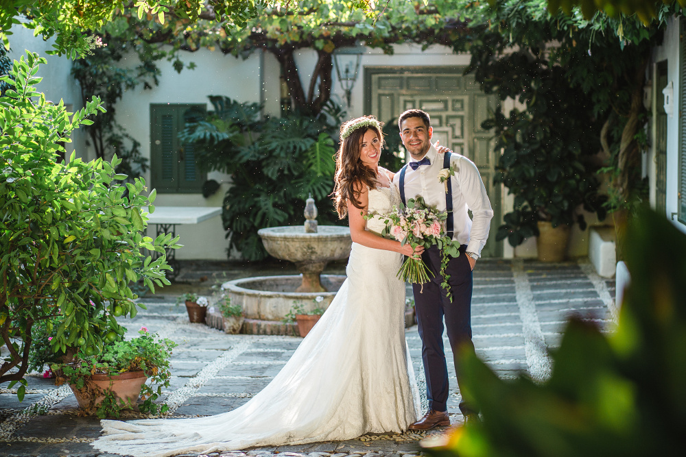 Romantic Blush & Lace Spanish Destination Wedding by ...