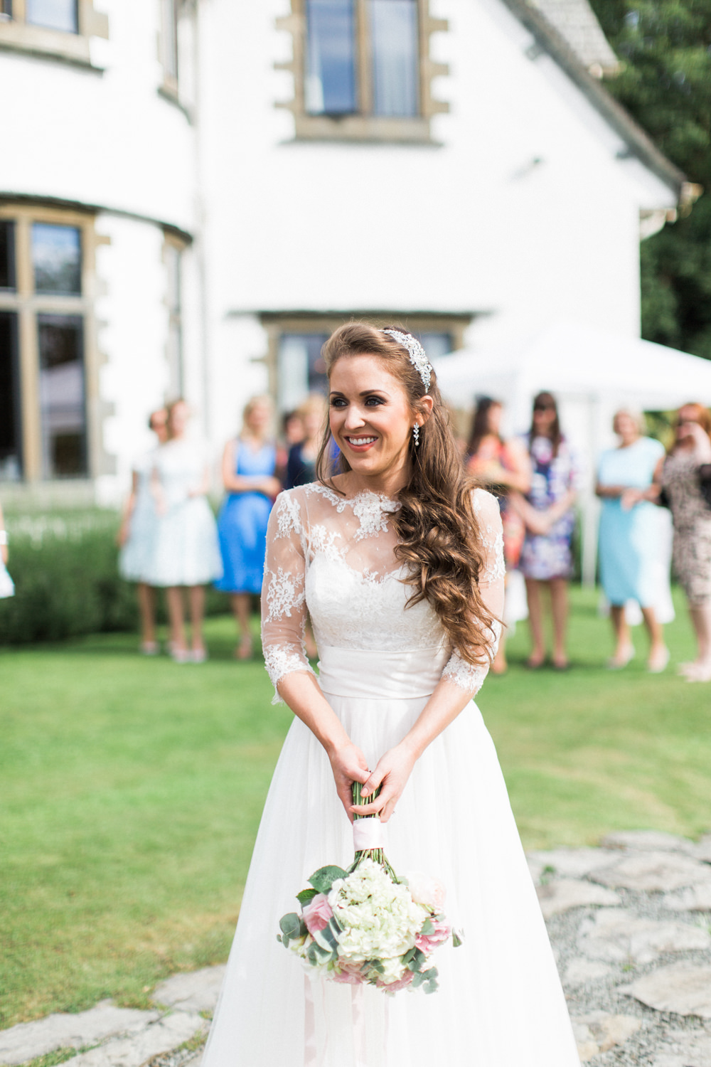 Intimate Pastel Country Wedding at Gossel Ridding nr Lake Windermere