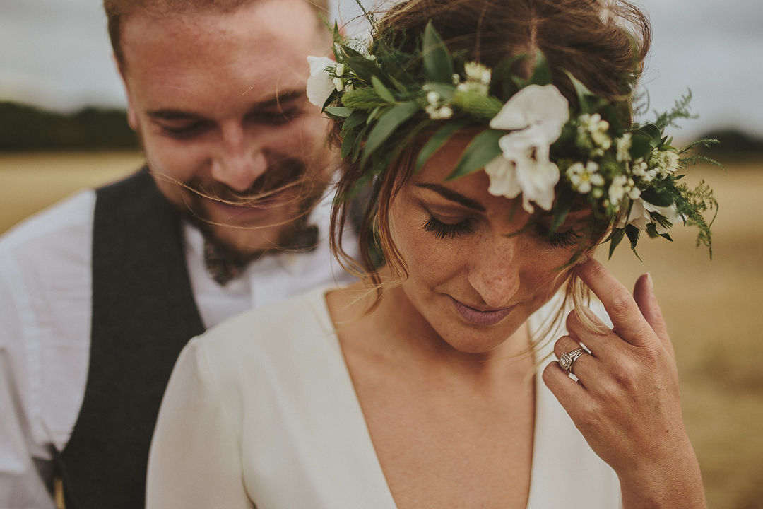 Rustic Tipi Wedding at Pheasantry Brewery with Greenery ...
