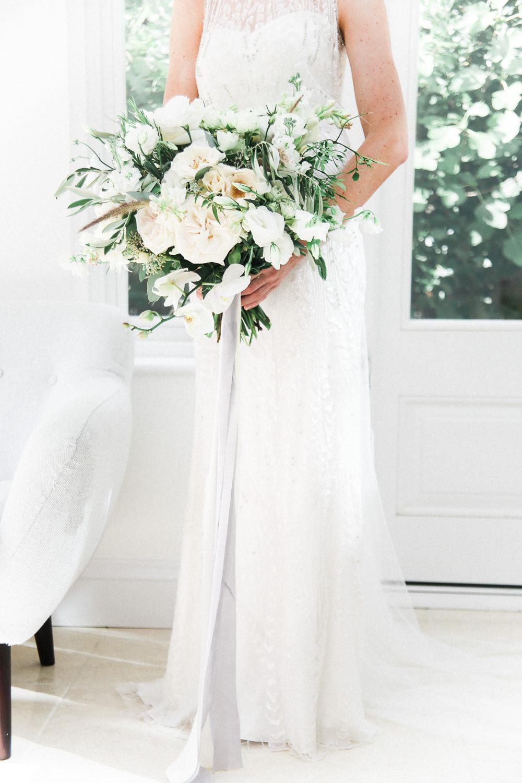 Elegant Hampton Manor Floral Wedding With Jenny Packham Hermia