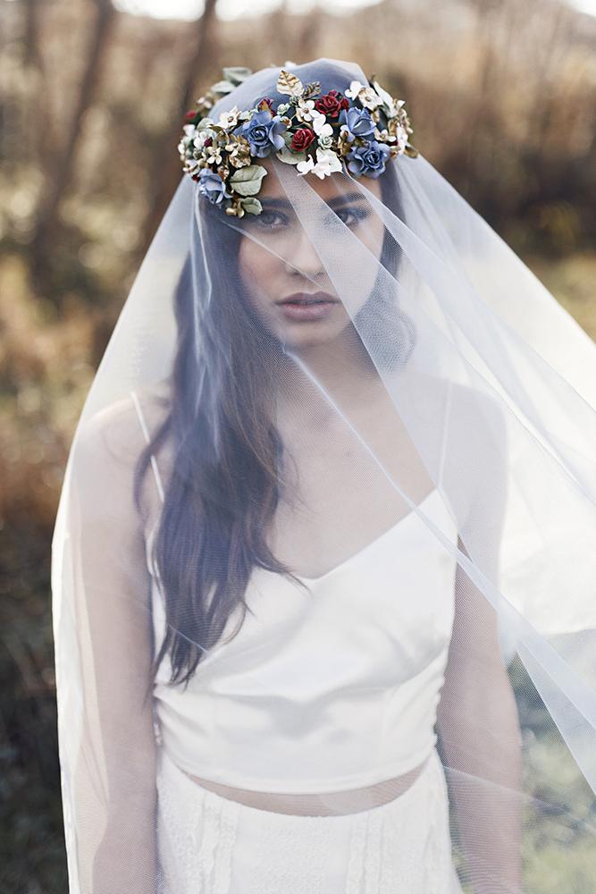 Otaduy Wedding Dresses For A Bohemian Bridal Inspiration Shoot
