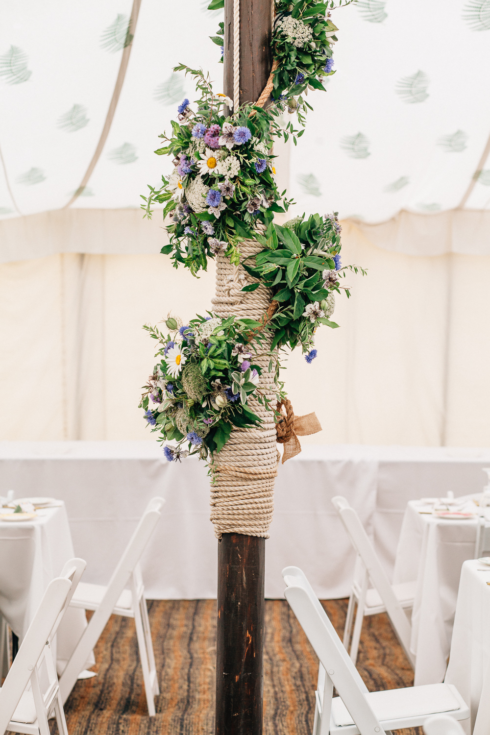 wild flower wedding for a rustic marquee reception at. Black Bedroom Furniture Sets. Home Design Ideas