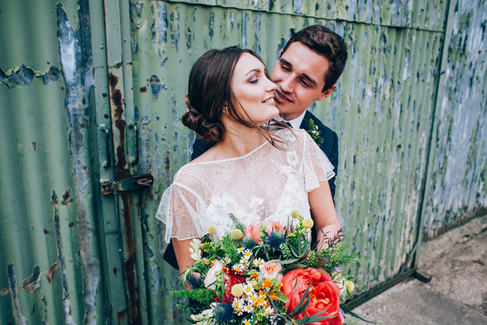 Rustic Wedding at The Barn at Manor Farm with David Fielden Bridal ...