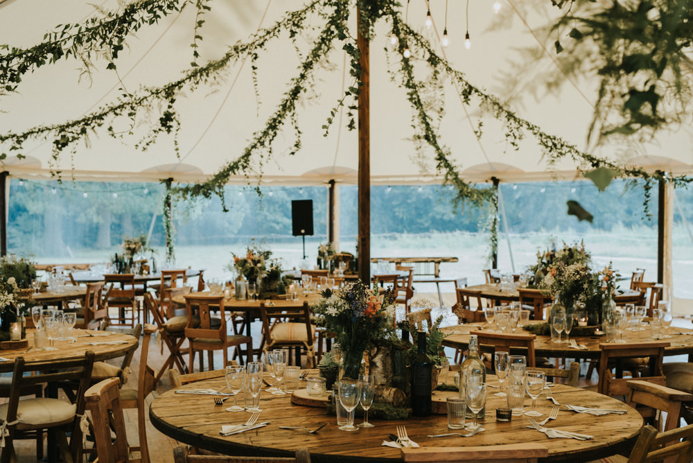 Outdoor Woodland Wedding At The Dreys In Kent With Grace