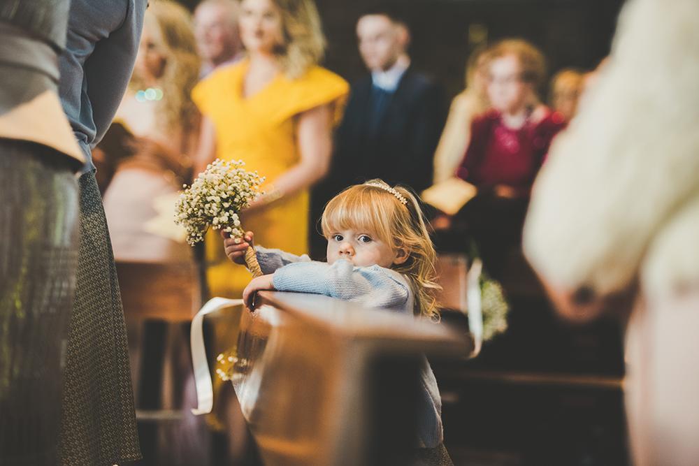 Justin Alexander Lace Tea Length Wedding Dress For A