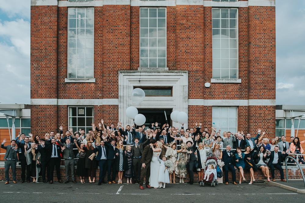 Anais Anette Savannah Gown For A Contemporary London Wedding