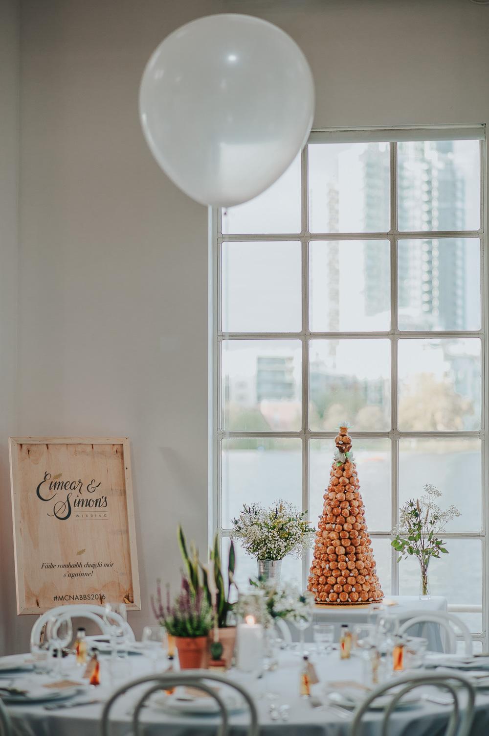 Croque En Bouche Wedding Cake London