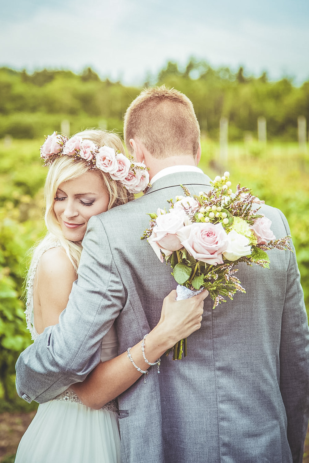 Hayley Paige Wedding Dress For A Pastel Themed Wedding With Rose ...