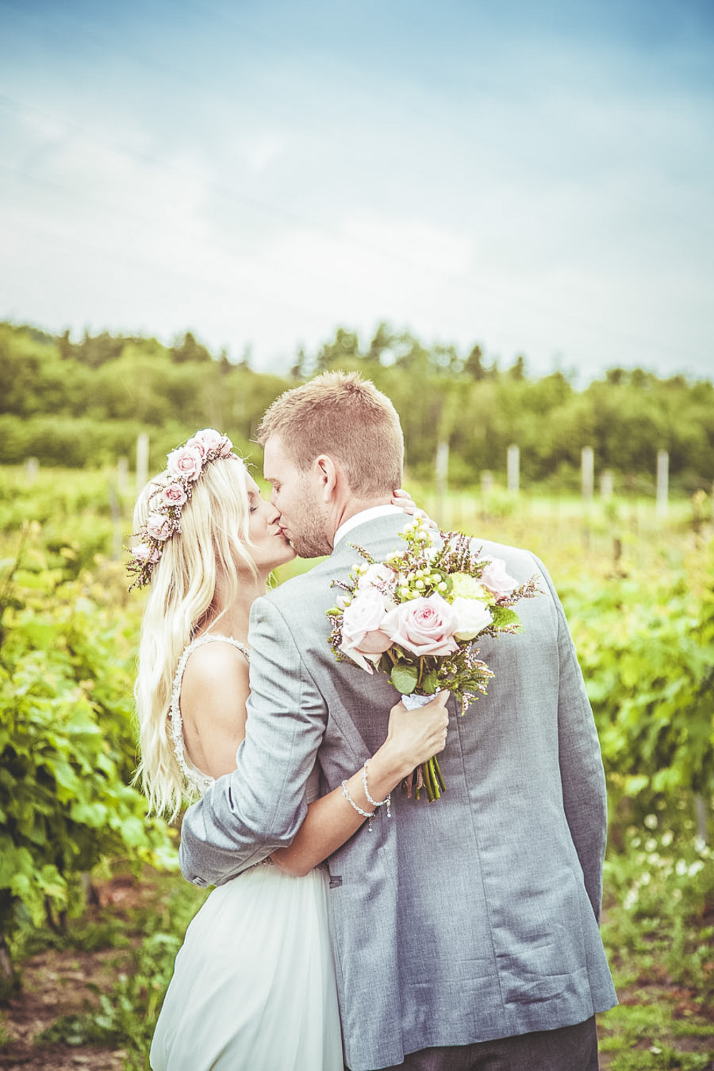 Hayley Paige Wedding Dress For A Pastel Themed Wedding With Rose