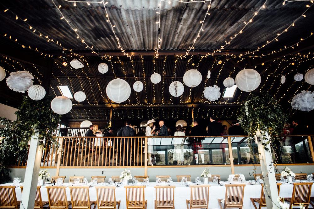 Industrial Wedding At Stone Barn With Pronovias Tami