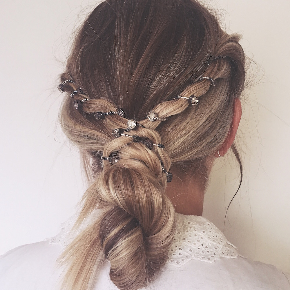 bridal hair and makeup from emily kent - rock my wedding | uk