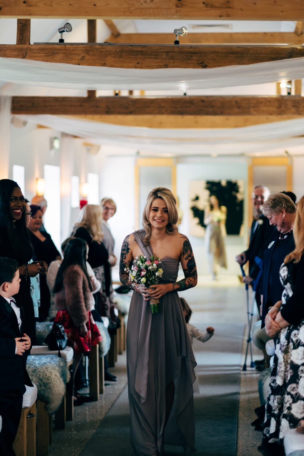 Spring Wedding at Southend Barns in Chichester by Dale Weeks Photography