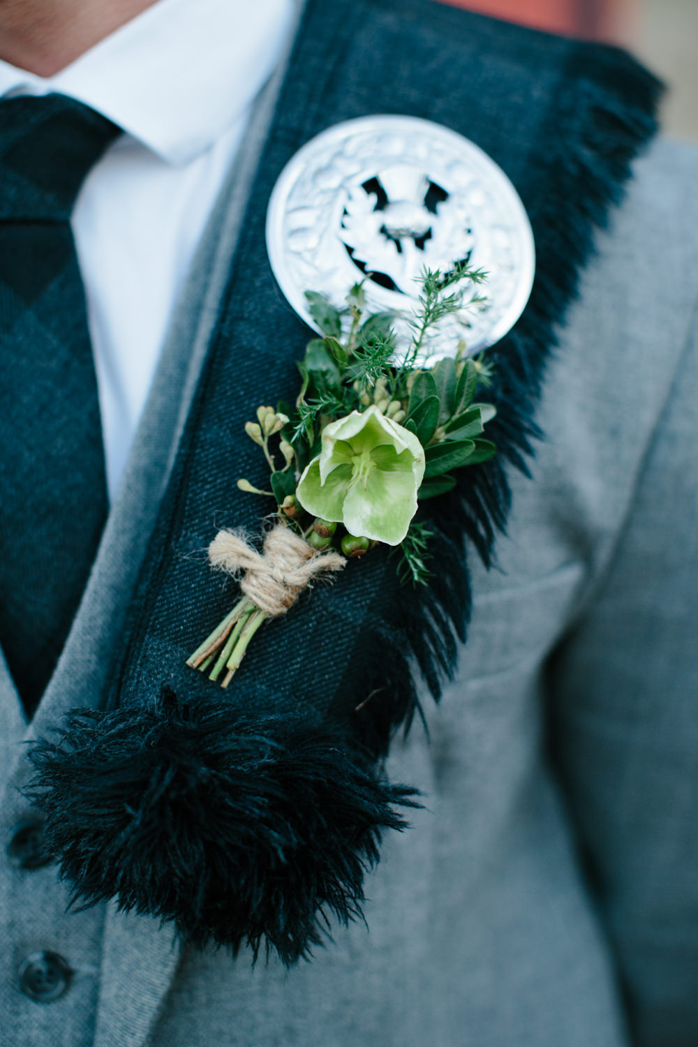 Rustic Barn Winter Wedding at Kinkell Byre nr. St Andrew\'s in Scotland