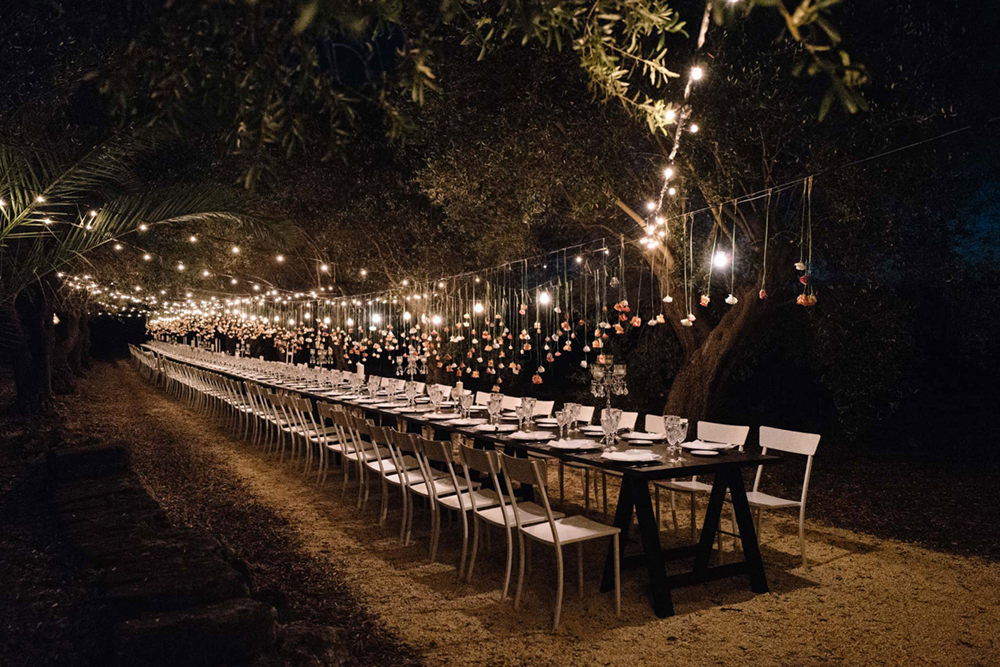 Outdoor Wedding Lighting Ideas From Real Celebrations: Wedding Lighting For Outdoor Celebrations