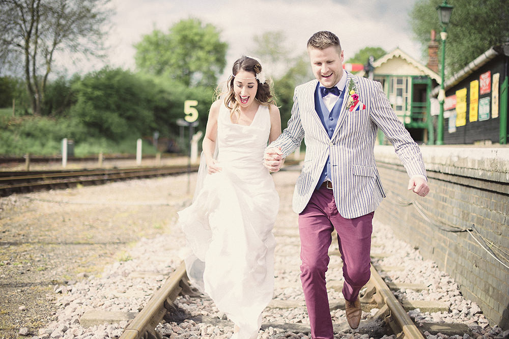 Budget Friendly DIY Wedding At East Anglian Railway Museum With