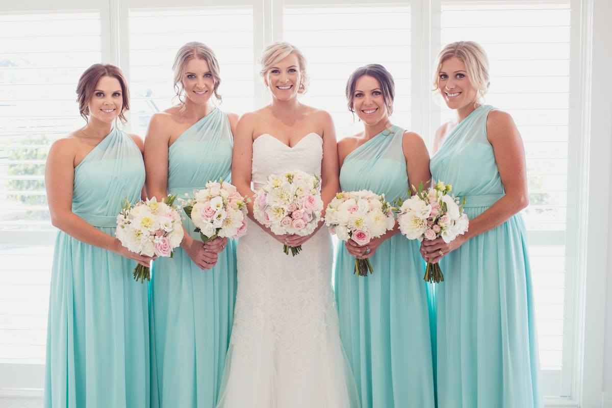 Beautiful Bridesmaid Dresses By For Her And For Him In An