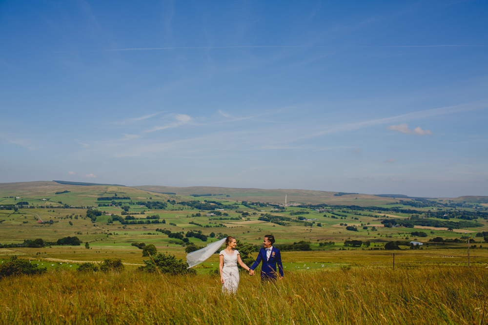 Brightly Coloured Wedding at Breckenhill in Northern Ireland by Navyblur