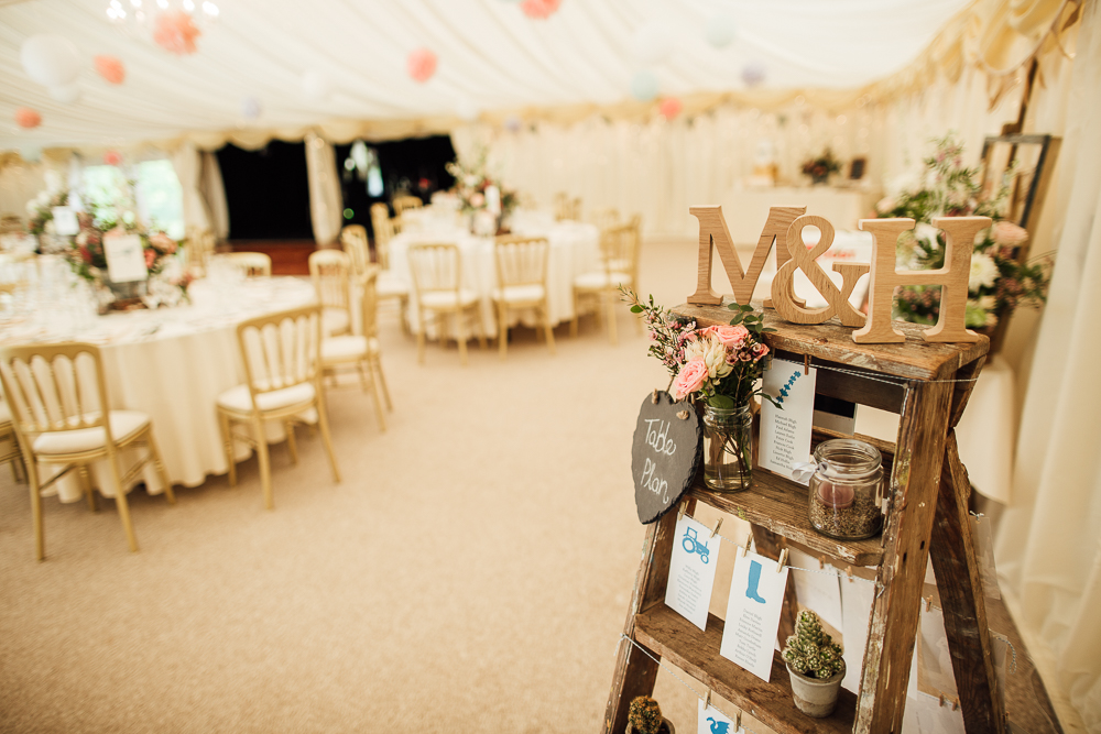 Pastel Marquee Wedding At Hedingham Castle Essex With Aire