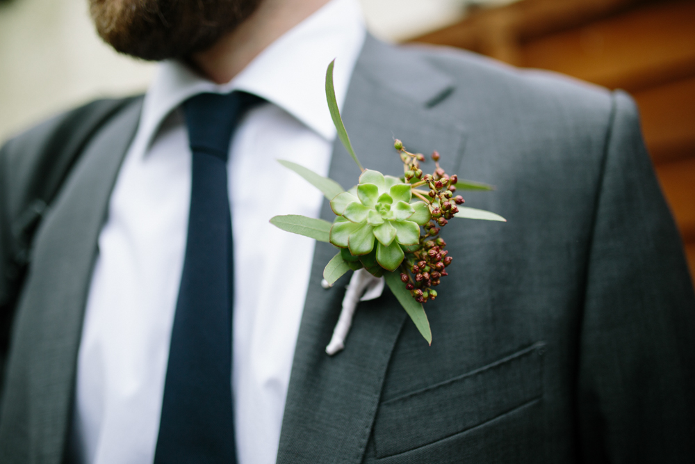 Stylish Hackney Town Hall Wedding With Copper Altar Perspex