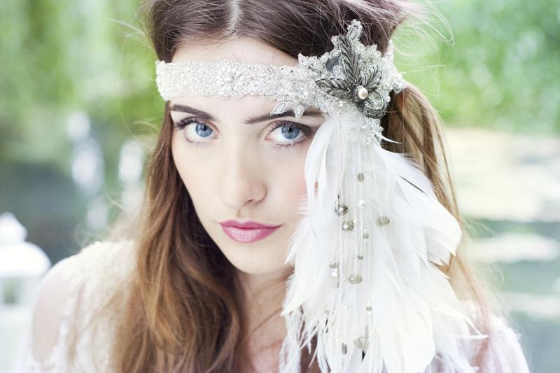 Bridal Inspiration Shoot Featuring Donna Crain Headpieces