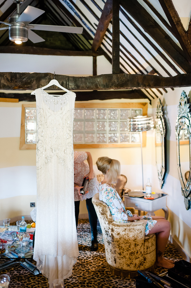 A Beautiful Music Inspired Wedding At The Crazy Bear In Stadhampton With A Jenny Packham Esme Wedding Dress and A Pink And Cream Avalanche Rose Bouquet.