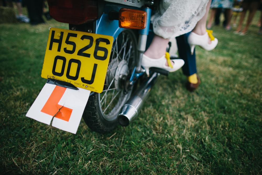 DIY Tipi Wedding In Shropshire