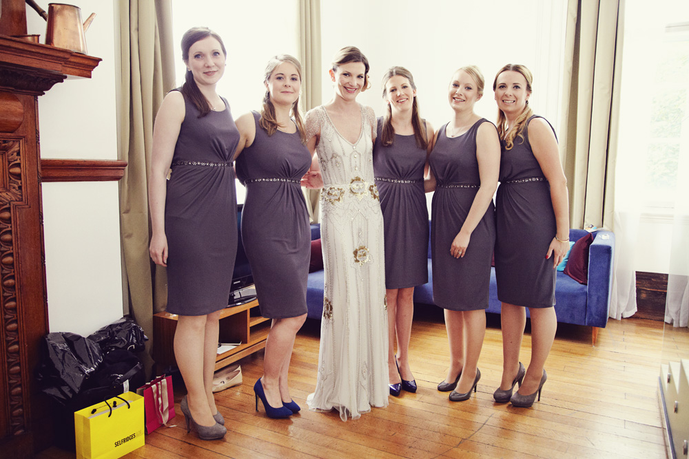A Jenny Packham \'Eden\' gown for a wedding at the Town Hall Hotel in ...