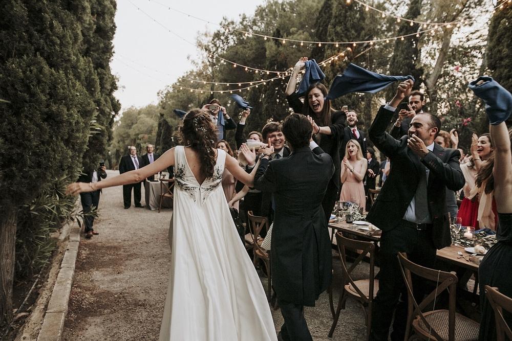 Spanish Wedding With Outdoor Ceremony & Stunning Reception
