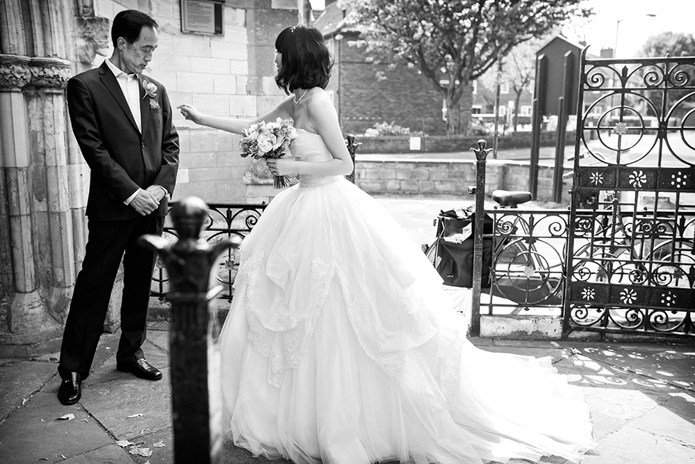A fine art photography Chinese influenced wedding at The