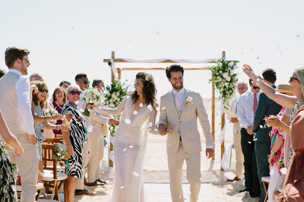 Portugal Beach Wedding At Ilha Deserta, Planned By Susana