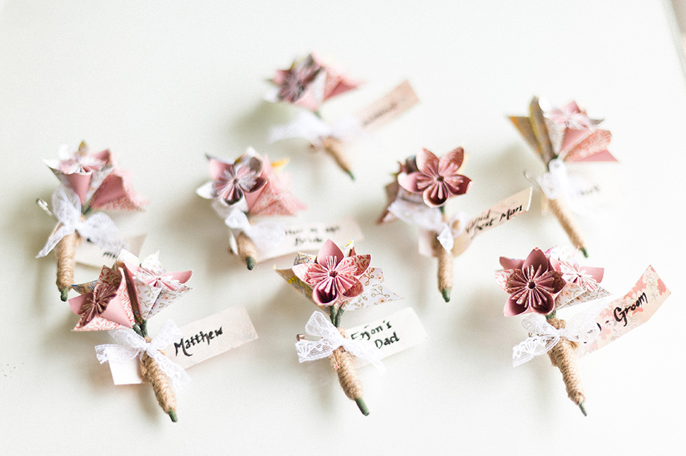 Paper Kusudama Origami Flower Wedding Bouquet - Customized ... | 665x1000