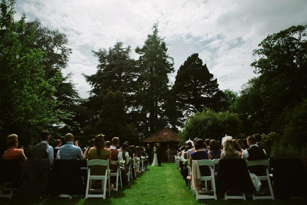Jenny Packham Tuberose Gown Scottish Wedding At Errol Park