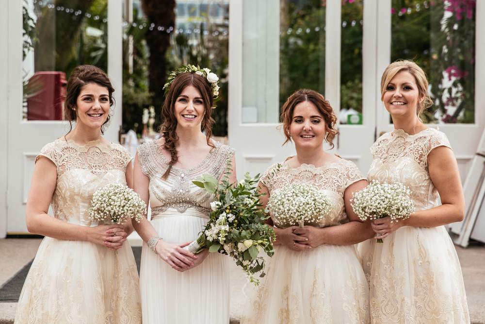 Botanical Wedding At Sefton Park Palm House With Anna