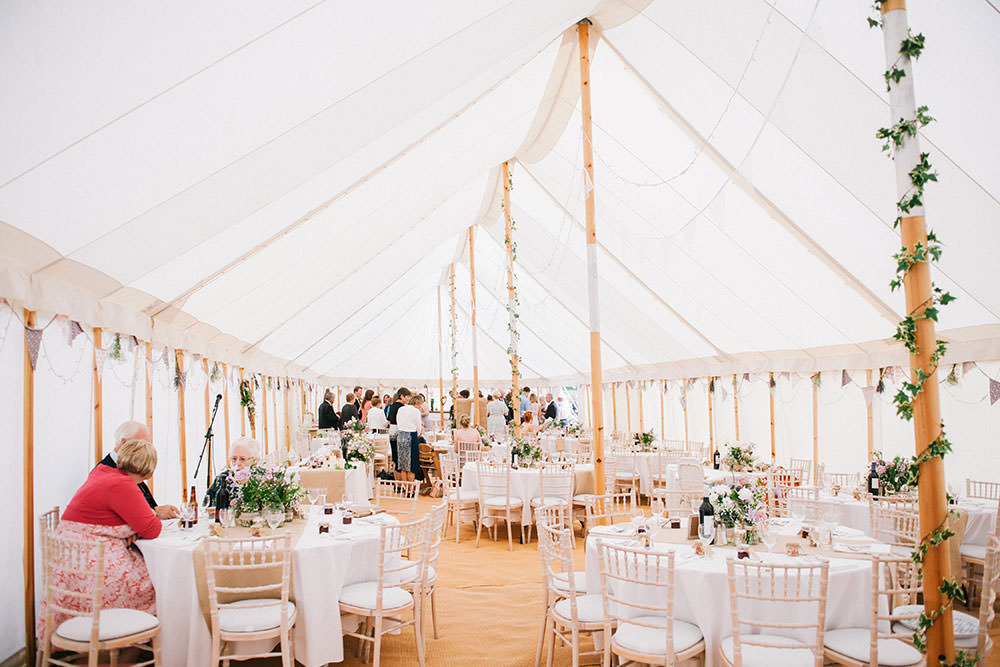 Rustic marquee wedding in yorkshire with a lavender and dove grey image by a junglespirit Choice Image