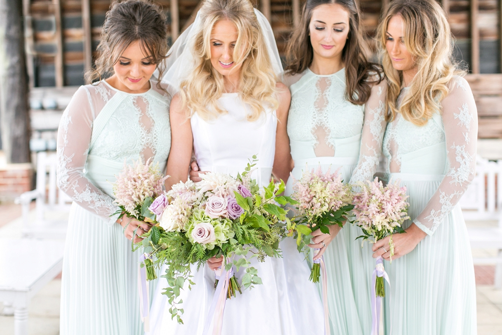 Simple Wedding Dresses Asos: Pastel Wedding At Gaynes Park With Pimp Your Prosecco Bar