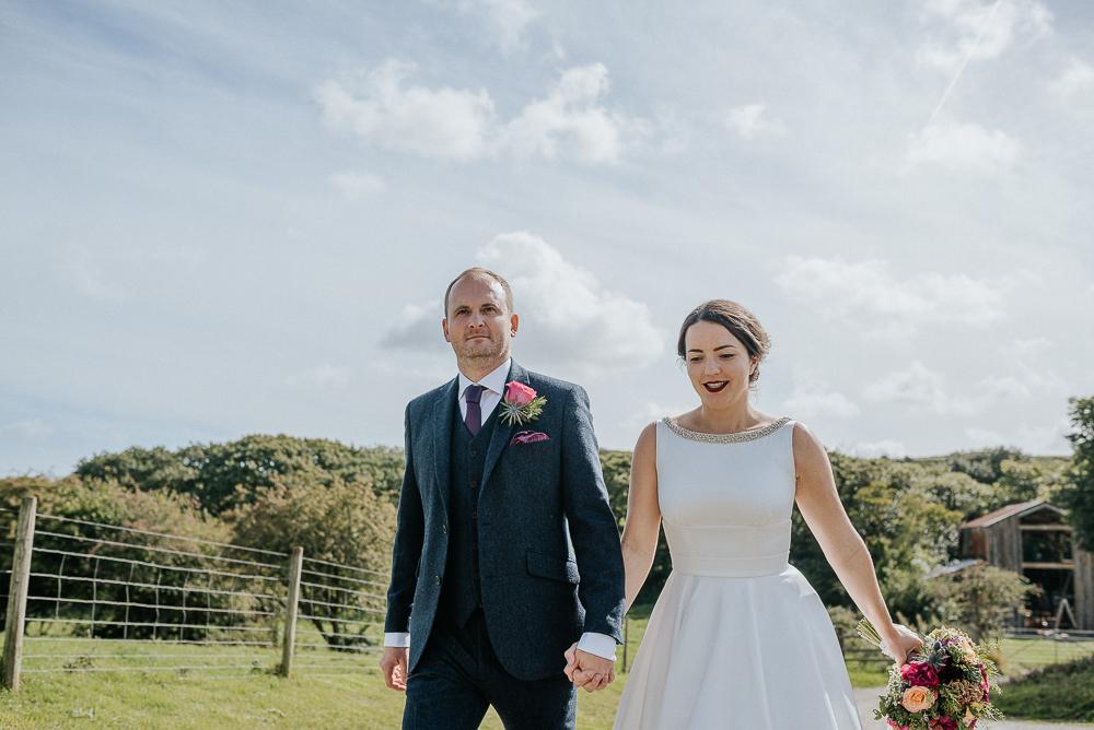 Nancarrow Farm Cornwall Wedding Images by Nick Walker Photography