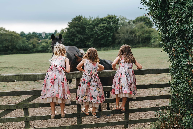 Rustic Barn Wedding At Helmingham Hall Gardens In Suffolk,Lace Beach Wedding Dresses Uk