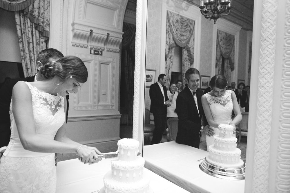 Vintage Great Gatsby Wedding with Lace Justin Alexander Gown ...