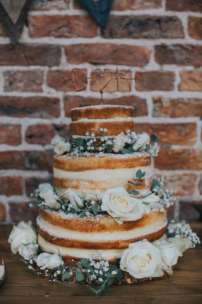 Rustic Autumn Wedding At Barmbyfields Barn With Bride In Ellis Bridal