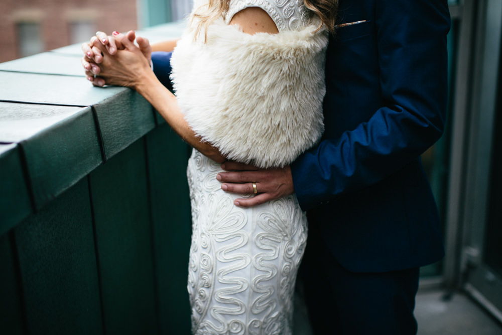 Intimate humanist wedding ceremony at the lighthouse glasgow with image by a junglespirit Images