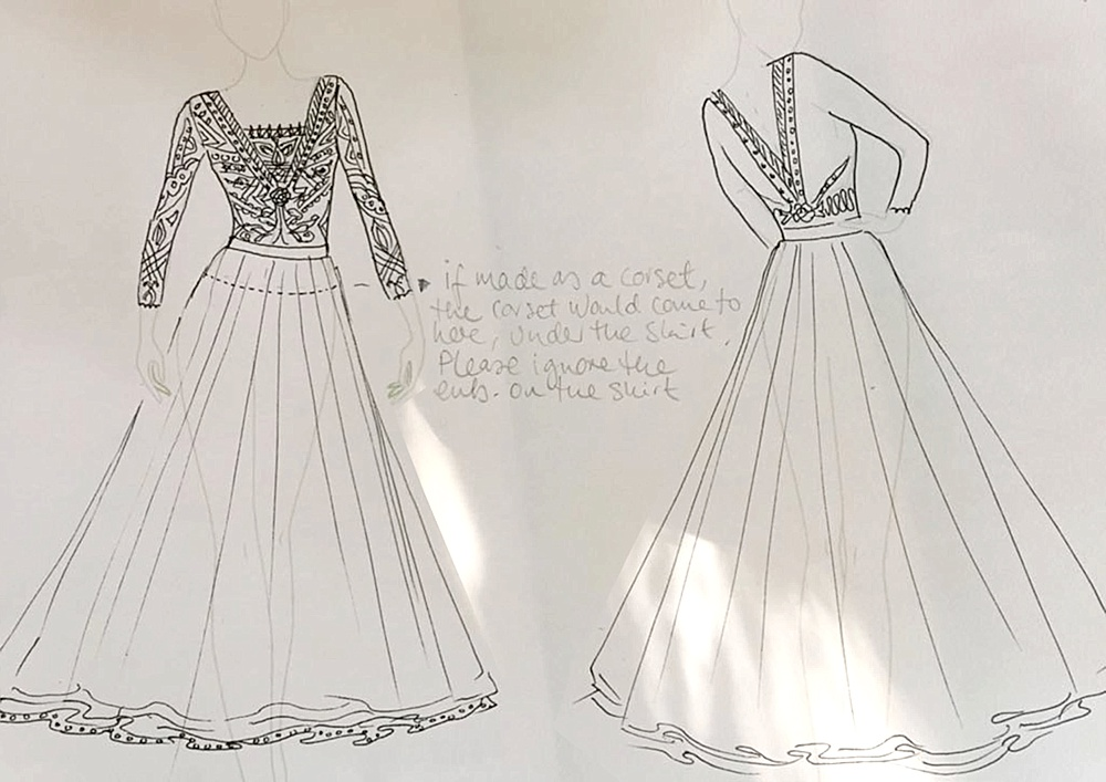 Real Bride Review Of Having Bespoke Wedding Dress Made Abroad In New Delhi India