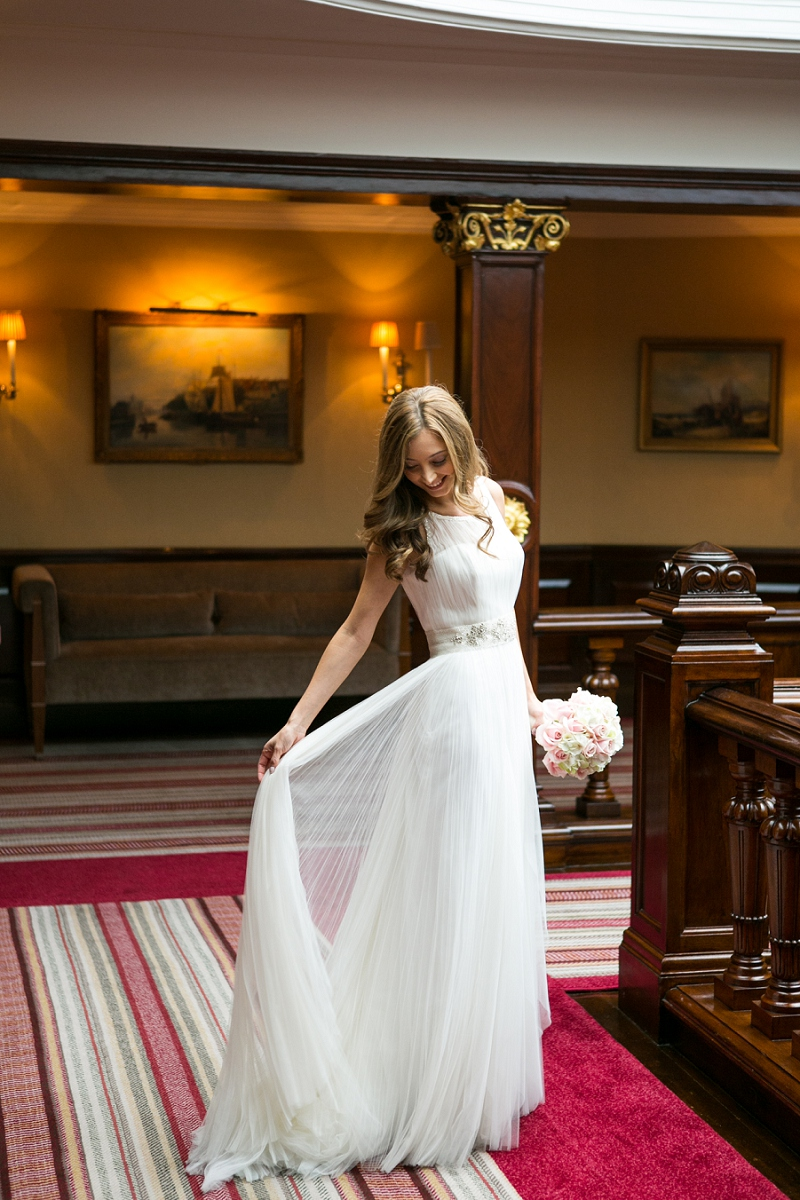 Elegant Wedding At The Connaught Hotel Mayfair With Bride ...