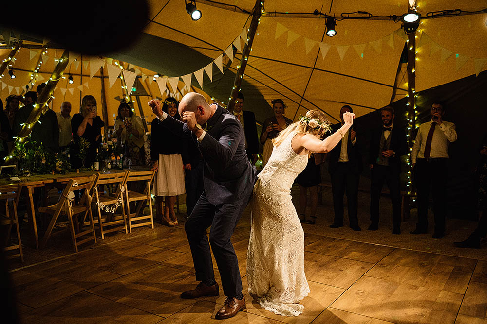 Ceremony First Reception: Botanical Outdoor Wedding At Hill Top Farm In Cheshire