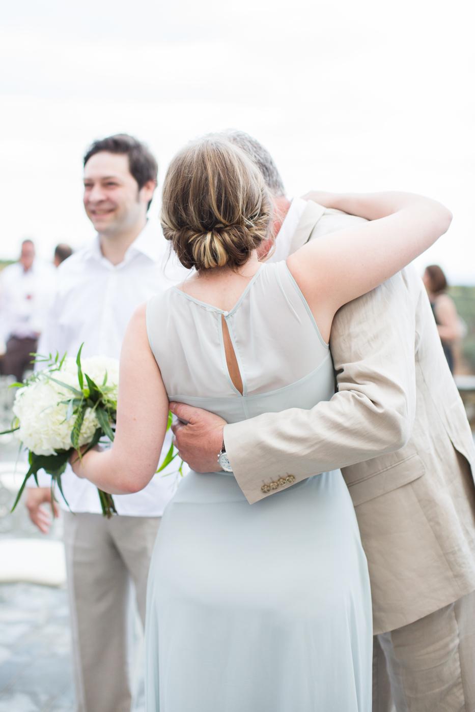 Intimate Outdoor Destination Wedding at Kinsterna Hotel & Spa in Greece